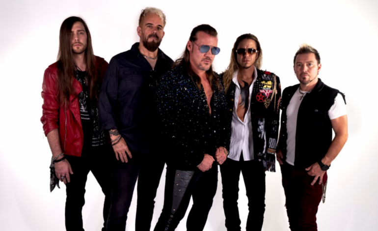 Pro Wrestler Chris Jericho Responds to Criticism Over His Hard-Rock Band Fozzy Playing Shows