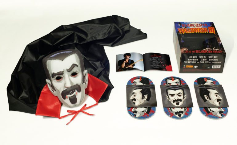 Halloween 2020 Album Frank Zappa Announces New Box Set Halloween 81 Featuring Over 70