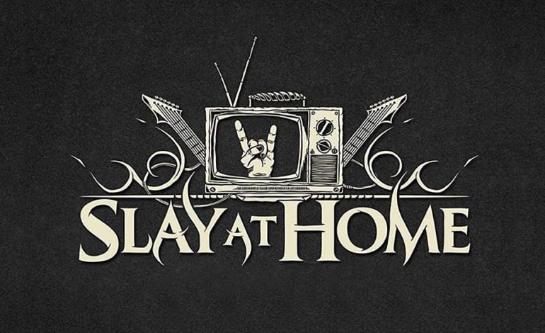 Slay At Home Live Stream to Become Monthly Series Featuring Performances and Collaborative Covers from Members of Katatonia, The Ocean, Mastodon, Revocation and More