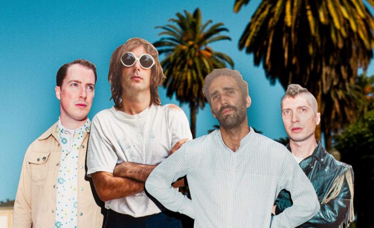 """Islands Creates An Office Space In The Desert In New Video For Single """"Set The Fairlight"""""""
