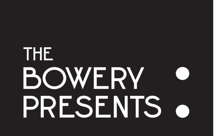 Bowery Presents Announces New Streaming Series from New York City Venues