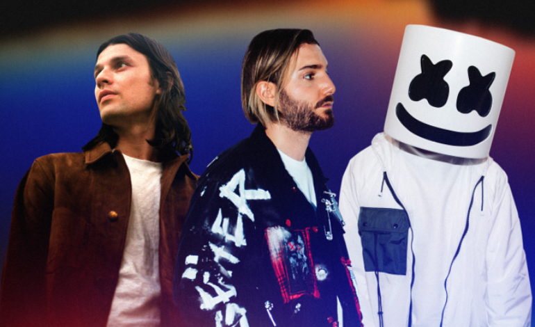 """Alesso and Marshmello join forces with James Bay for the new """"Chasing Stars"""" electric track"""