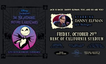 The Nightmare Before Christmas Live-To-Film at the Banc of California Stadium on October 29th and 31st