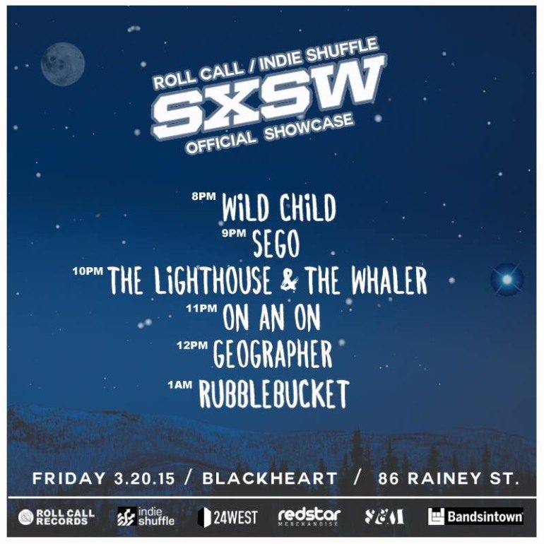 Roll Call and Indie Shuffle SXSW 2015 Showcase Announced