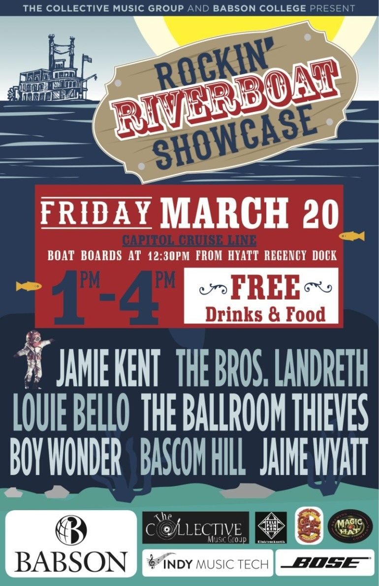 Rockin' Riverboat Showcase SXSW 2015 Day Party Announced